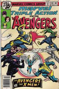 Cover Thumbnail for Marvel Triple Action (Marvel, 1972 series) #46 [Regular Edition]
