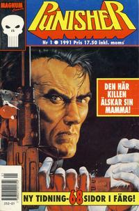Cover Thumbnail for Punisher (Atlantic Förlags AB; Pandora Press, 1991 series) #1/1991