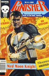 Cover Thumbnail for Punisher (Atlantic Förlags AB; Pandora Press, 1991 series) #4/1991