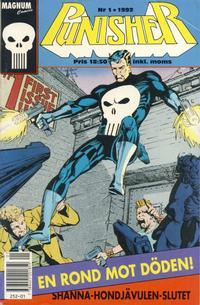 Cover Thumbnail for Punisher (Atlantic Förlags AB; Pandora Press, 1991 series) #1/1992
