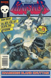 Cover Thumbnail for Punisher (Atlantic Förlags AB; Pandora Press, 1991 series) #4/1992
