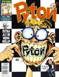 Cover Thumbnail for Pyton (Atlantic Förlags AB, 1990 series) #4/1990