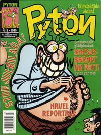 Cover Thumbnail for Pyton (Atlantic Förlags AB, 1990 series) #5/1990