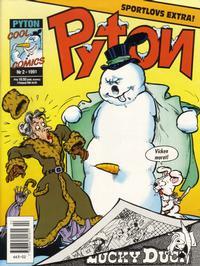 Cover Thumbnail for Pyton (Atlantic Förlags AB, 1990 series) #2/1991