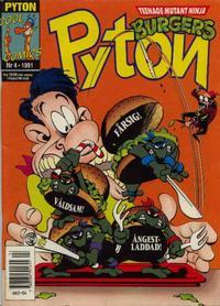 Cover Thumbnail for Pyton (Atlantic Förlags AB, 1990 series) #4/1991
