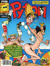Cover Thumbnail for Pyton (Atlantic Förlags AB, 1990 series) #6/1991