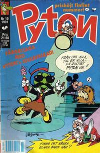 Cover Thumbnail for Pyton (Atlantic Förlags AB, 1990 series) #10/1991