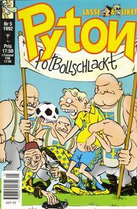 Cover Thumbnail for Pyton (Atlantic Förlags AB, 1990 series) #5/1992