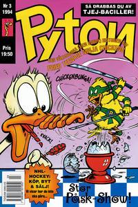 Cover Thumbnail for Pyton (Atlantic Förlags AB, 1990 series) #3/1994