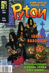 Cover Thumbnail for Pyton (Atlantic Förlags AB, 1990 series) #4/1994