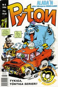 Cover Thumbnail for Pyton (Atlantic Förlags AB, 1990 series) #8/1994