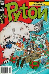 Cover Thumbnail for Pyton (Atlantic Förlags AB, 1990 series) #12/1994