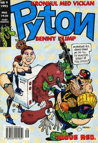Cover Thumbnail for Pyton (Atlantic Förlags AB, 1990 series) #9/1995