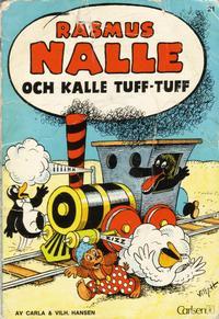 Cover Thumbnail for Rasmus Nalle (Carlsen/if [SE], 1968 series) #21