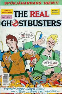 Cover Thumbnail for The Real Ghostbusters (Atlantic Förlags AB, 1988 series) #5/1989