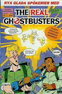 Cover Thumbnail for The Real Ghostbusters (Atlantic Förlags AB, 1988 series) #7/1989