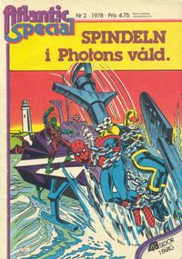Cover Thumbnail for Atlantic special (Atlantic Förlags AB, 1978 series) #2/1978