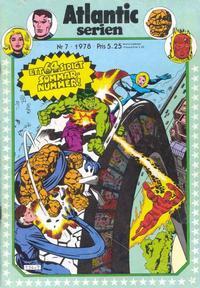 Cover Thumbnail for Atlanticserien (Atlantic Förlags AB, 1978 series) #7/1978