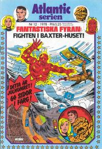 Cover Thumbnail for Atlanticserien (Atlantic Förlags AB, 1978 series) #12/1978