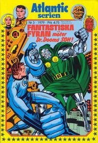 Cover Thumbnail for Atlanticserien (Atlantic Förlags AB, 1978 series) #3/1979