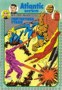 Cover Thumbnail for Atlanticserien (Atlantic Förlags AB, 1978 series) #5/1979