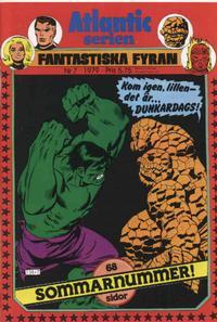 Cover Thumbnail for Atlanticserien (Atlantic Förlags AB, 1978 series) #7/1979