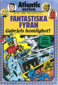 Cover Thumbnail for Atlanticserien (Atlantic Förlags AB, 1978 series) #10/1979