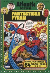 Cover Thumbnail for Atlanticserien (Atlantic Förlags AB, 1978 series) #12/1979