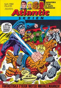 Cover Thumbnail for Atlanticserien (Atlantic Förlags AB, 1978 series) #4/1980
