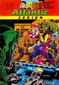 Cover Thumbnail for Atlanticserien (Atlantic Förlags AB, 1978 series) #6/1980