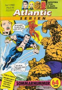 Cover Thumbnail for Atlanticserien (Atlantic Förlags AB, 1978 series) #7/1980