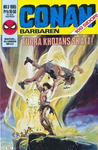 Cover Thumbnail for Conan (Semic, 1984 series) #3/1985