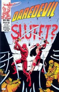 Cover Thumbnail for Daredevil (Semic, 1986 series) #6/1986