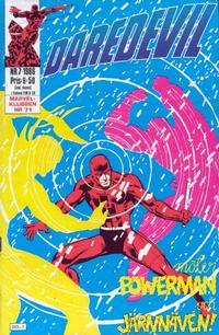 Cover for Daredevil (Semic, 1986 series) #7/1986