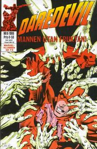 Cover Thumbnail for Daredevil (Semic, 1986 series) #8/1986