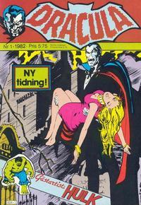 Cover Thumbnail for Dracula (Atlantic Förlags AB, 1982 series) #1/1982