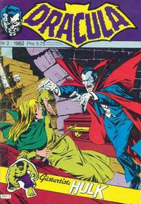 Cover Thumbnail for Dracula (Atlantic Förlags AB, 1982 series) #2/1982