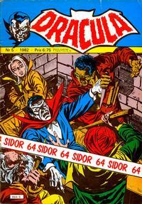 Cover Thumbnail for Dracula (Atlantic Förlags AB, 1982 series) #5/1982