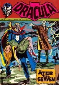 Cover Thumbnail for Dracula (Atlantic Förlags AB, 1982 series) #6/1982