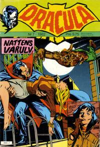 Cover Thumbnail for Dracula (Atlantic Förlags AB, 1982 series) #7/1982