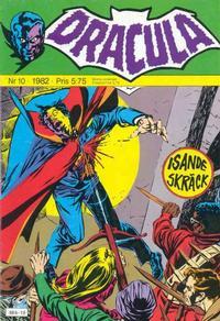 Cover Thumbnail for Dracula (Atlantic Förlags AB, 1982 series) #10/1982