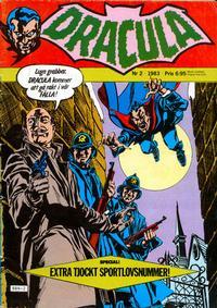 Cover Thumbnail for Dracula (Atlantic Förlags AB, 1982 series) #2/1983