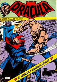 Cover Thumbnail for Dracula (Atlantic Förlags AB, 1982 series) #3/1983