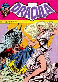 Cover Thumbnail for Dracula (Atlantic Förlags AB, 1982 series) #4/1983