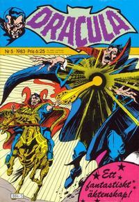 Cover Thumbnail for Dracula (Atlantic Förlags AB, 1982 series) #5/1983