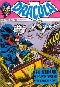 Cover Thumbnail for Dracula (Atlantic Förlags AB, 1982 series) #7/1983