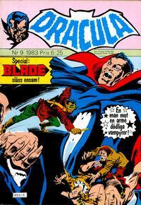Cover Thumbnail for Dracula (Atlantic Förlags AB, 1982 series) #9/1983