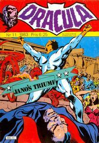 Cover Thumbnail for Dracula (Atlantic Förlags AB, 1982 series) #11/1983