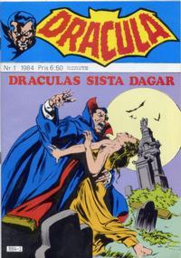 Cover Thumbnail for Dracula (Atlantic Förlags AB, 1982 series) #1/1984