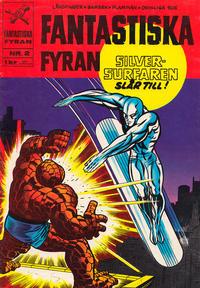 Cover Thumbnail for Fantastiska fyran (Williams Förlags AB, 1967 series) #2